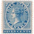 (I.B) Canada Revenue : Bill Stamp 7c