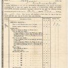 (I.B) Edward VII Revenue : Amorial Bearings Licence £1 1/- (Scotland)