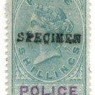 (I.B) QV Revenue : Police Courts 5/- (1876)