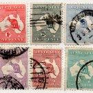 (I.B) Australia Postal : Kangaroo Collection