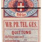 (I.B) Austria Telegraphs : Vienna Private Telegraphs 20kr