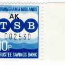(I.B) Elizabeth II Revenue : Birmingham & Midlands Municipal Bank 10p (TSB)