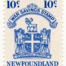 (I.B) Canada Revenue : Newfoundland War Savings 10c