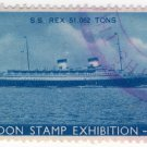 (I.B) Cinderella Collection : London Stamp Exhibition 1939 (SS Rex)