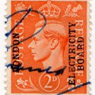 (I.B) George VI Commercial Overprint : London Electricity Board