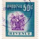 (I.B) Rhodesia Revenue : Duty Stamp 50c