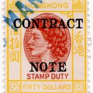 (I.B) Hong Kong Revenue : Contract Note $50