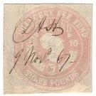 (I.B) QV Revenue : Ireland Chancery Fee Fund £3 (1867)