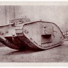 "(I.B) Cinderella Collection : National War Savings - ""One of Our Tanks"" Postcard"