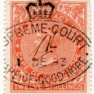 (I.B) Cape of Good Hope Revenue : Stamp Duty 12/- (Supreme Court)