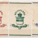 (I.B) Heligoland Postal : Newspaper Wrapper Collection