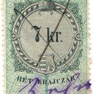 (I.B) Austria/Hungary Revenue : Stempelmarke 7Kr