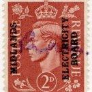 (I.B) George VI Commercial Overprint : Midlands Electricity Board