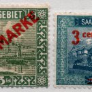 (I.B) Germany Postal : Saarbiet Overprints