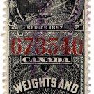 (I.B) Canada Revenue : Weights & Measures 50c