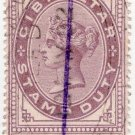 (I.B) Gibraltar Revenue : Duty Stamp 30c