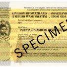 (I.B) Swaziland Revenue : Postal Order E20