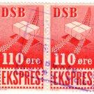 (I.B) Denmark State Railway : Parcels 110 Øre (Express)
