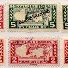(I.B) Austria Postal : Newspaper Stamp Collection (overprints)