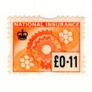 (I.B) Elizabeth II Revenue : National Insurance 11p