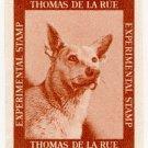 (I.B) Cinderella : De La Rue & Co - Experimental Stamp (German Shepherd)
