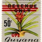 (I.B) British Guiana (Guyana) Revenue : Duty 50c (OPS)