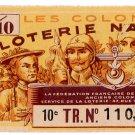 (I.B) France Cinderella : National Lottery Ticket (1945)