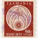 (I.B) Australia - Tasmania Revenue : Stamp Duty 50c