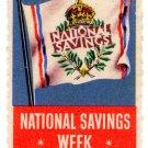 (I.B) Cinderella Collection : National Savings Promotional Stamp (1949)
