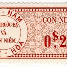 (I.B) Vietnam Revenue : Duty Stamp 20c