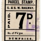 (I.B) Glasgow & South Western Railway : Parcels 7d (Dumfries)