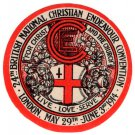 (I.B) Cinderella Collection : National Christian Endeavour (London 1914)