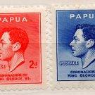 (I.B) Papua Postal : GVI Coronation