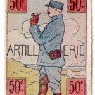 (I.B) Cinderella : Delandre Great War Regiments - 50th Artillery