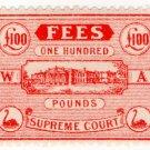 (I.B) Australia - Western Australia Revenue : Supreme Court £100