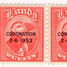 (I.B) Cinderella Collection : Lundy ½p (Coronation 1953 OP)