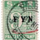 (I.B) South Africa Railways : Parcel Stamp 9d