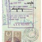 (I.B) George VI Revenue : Foreign Service 13/- (Manila)