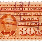 (I.B) US Revenue : Custom House Fees 30c