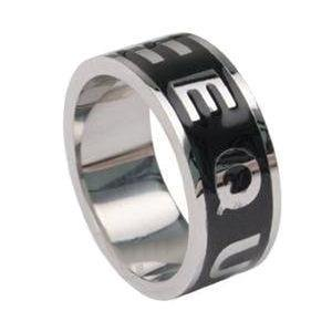 Equality Steel Ring Gay Lesbian Nat'l Marriage Boycott