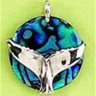 Whale Tail 0.925 Sterling Silver Pendants