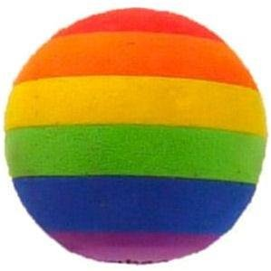 Gay Pride Antenna Topper Rainbow Ball