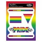 Lesbian Gay Pride Rainbow Sticker Value Pack