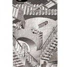 NEW iPhone 4/4S LuxMobile Relativity M.C. Escher Hard Case Black/White In Box