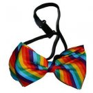 Gay Pride Rainbow Bow Tie Stripes