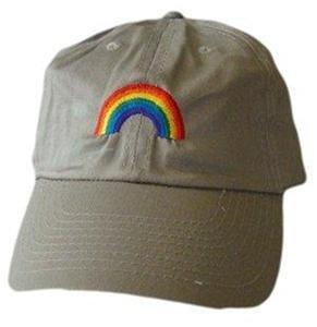 Gay Pride Baseball Cap Rainbow Arch Ball Hat Lesbian