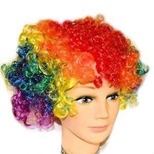 Gay Pride Wig Rainbow Curly Wig Pride Festival Event
