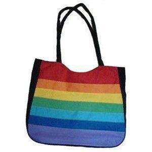 Gay Pride Rainbow Beach Bag Tote Bag Gay Pride Flag