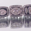 One set 3pcs 1976 1980 1983  Los Angeles raiders Super bowl CHAMPIONSHIP RING 11S