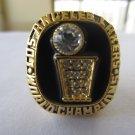 1985 Los Angeles Lakers NBA Basketball Championship ring replica size 10 US